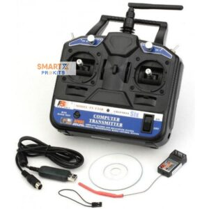 Fly Sky CT6B FS-CT6B 6-Channel 2.4 Ghz Transmitter and Receiver