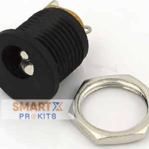2.1×5.5mm DC Power Jack Socket Panel Mount (Female)