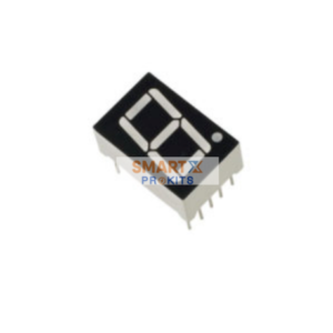 7 Segment LED Display – Common Anode