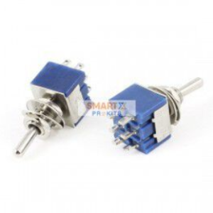 6-Pin DPDT Toggle Switch