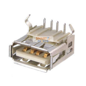 USB A 2.0 Female connector / pcb type