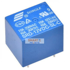 12V SPDT PCB Mount Sugar Cube Relay Switch