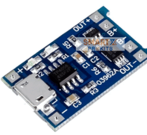TP4056 1A Li-Ion Battery Charging Board Micro USB with Current Protection