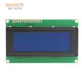 20X4 Blue LCD Display JHD204