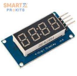 TM1637 4 Bits Digital Tube LED Display Module With Clock Display for Arduino