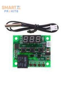 12V Digital Temperature Controller Module W/ Display and NTC Temp Sensor