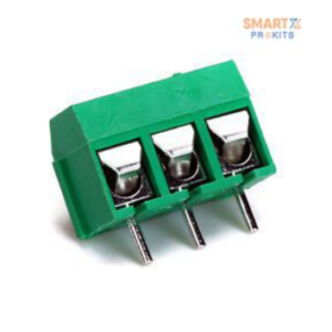 3 Pin Screw Terminal Green Connector